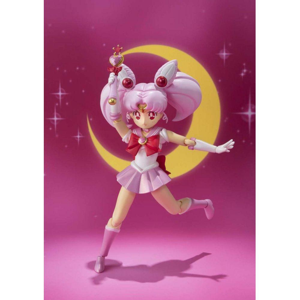 Boneco Chibi Moon (Chibiusa): Sailor Moon S.H.Figuarts - Bandai - CD