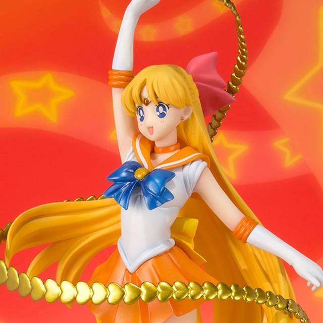 Estátua Sailor Venus (Minako Aino): Sailor Moon Figuarts ZERO - Bandai