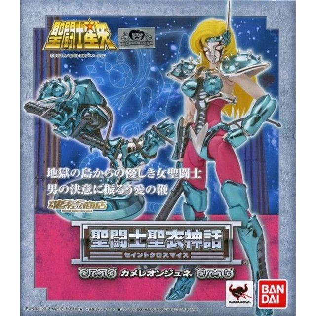 (Os Cavaleiros do Zodíaco) Saint Seiya Cloth Myth June de Camaleão - Bandai