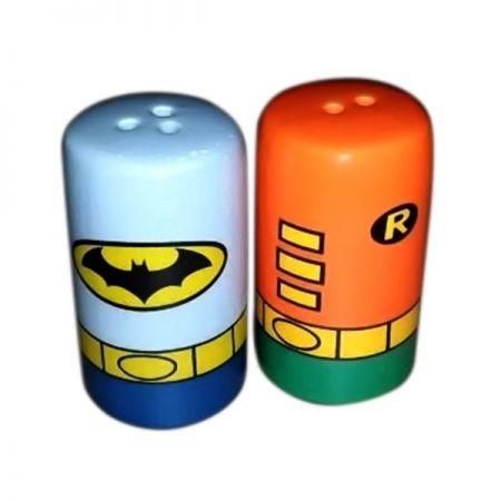 Saleiro e Pimenteiro Batman & Robin: DC Comics (Set de 2 Peças) - Urban