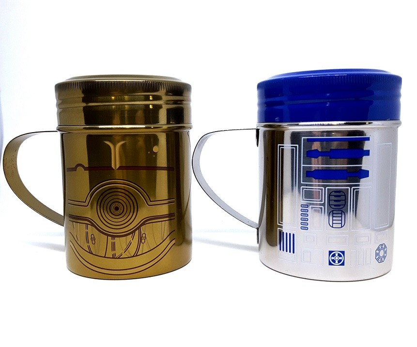 Saleiro e Pimenteiro R2-D2 e C-3PO