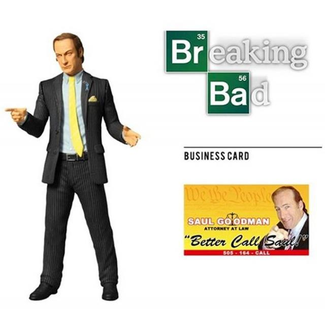 Action Figure Saul Goodman: Breaking Bad - Mezco