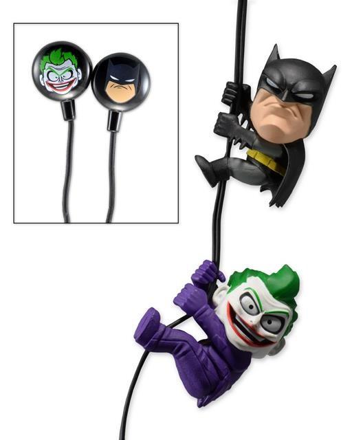 Scalers DC Comics Batman e Joker Fone de Ouvido 2 Pack - Neca