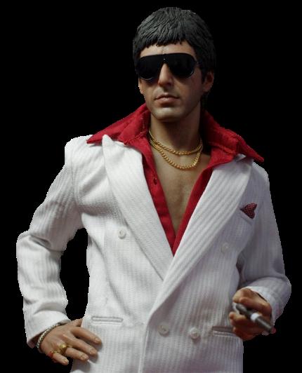 Boneco Tony Montana (The Respect Version):  Scarface (Escala 1/6) - Enterbay - CG