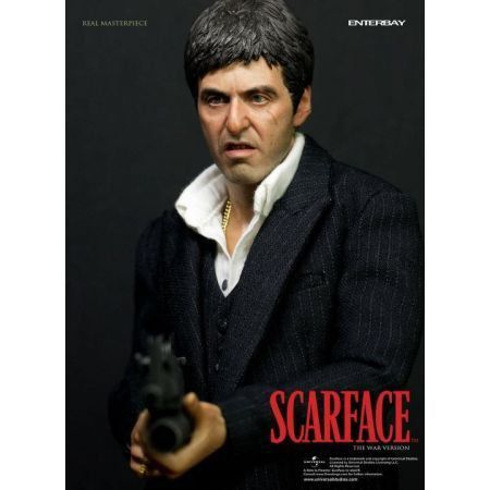 Scarface Tony Montana The War Version 1:6 - Enterbay