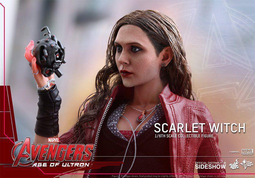 Boneco Feiticeira Escarlate (Scarlet Witch) Vingadores: Era de Ultron Escala 1/6 (MMS301) - Hot Toys - CG