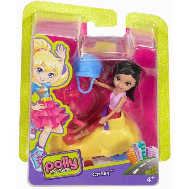 Scooter Crissy: Polly Pocket - Mattel