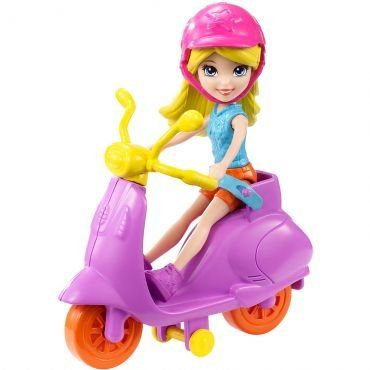 Scooter Polly: Polly Pocket - Mattel