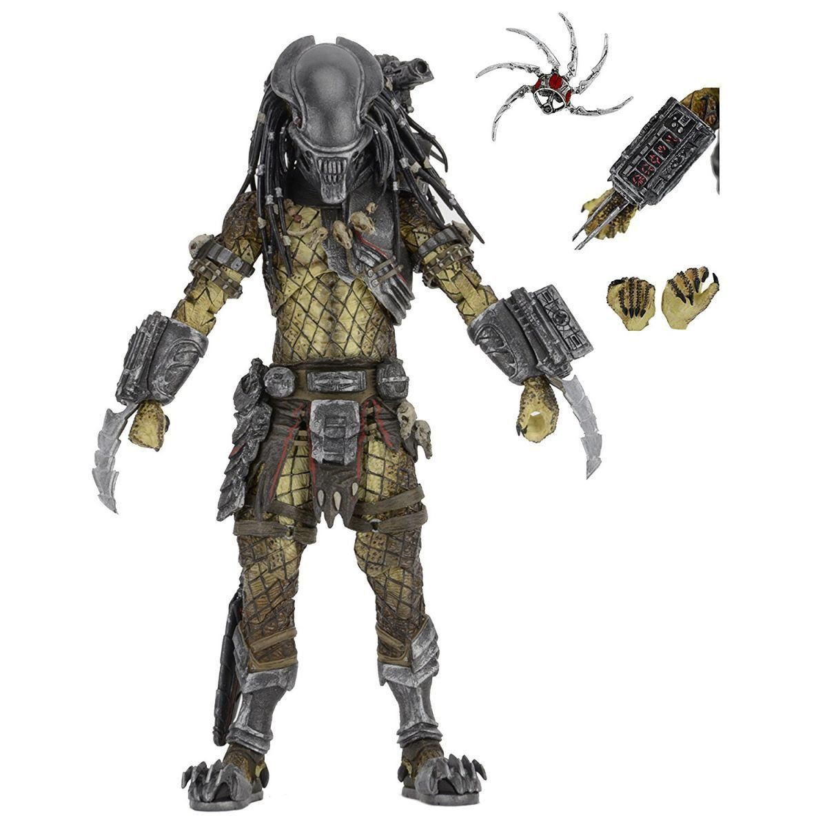 Serpent Hunter (Aliens Vs. Predador / Predator) Máscara de Alien Series 17 - Neca