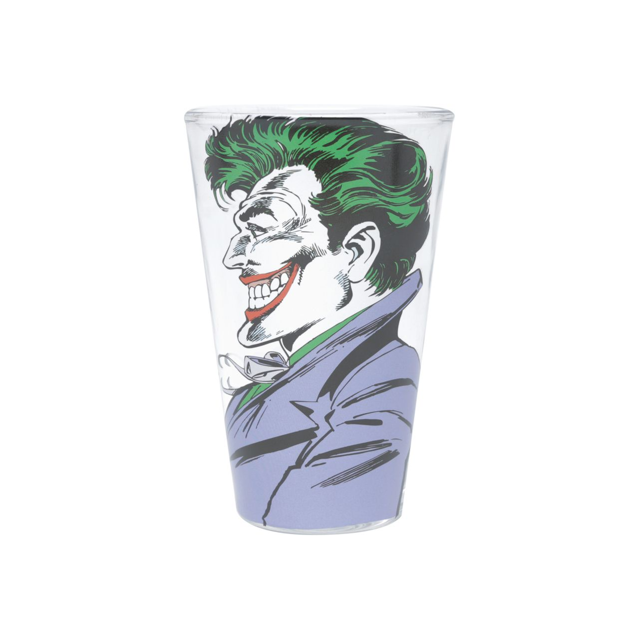 Set 2 Copos de Vidro Batman & Coringa (Joker) Dc Comics (300ml) - Urban