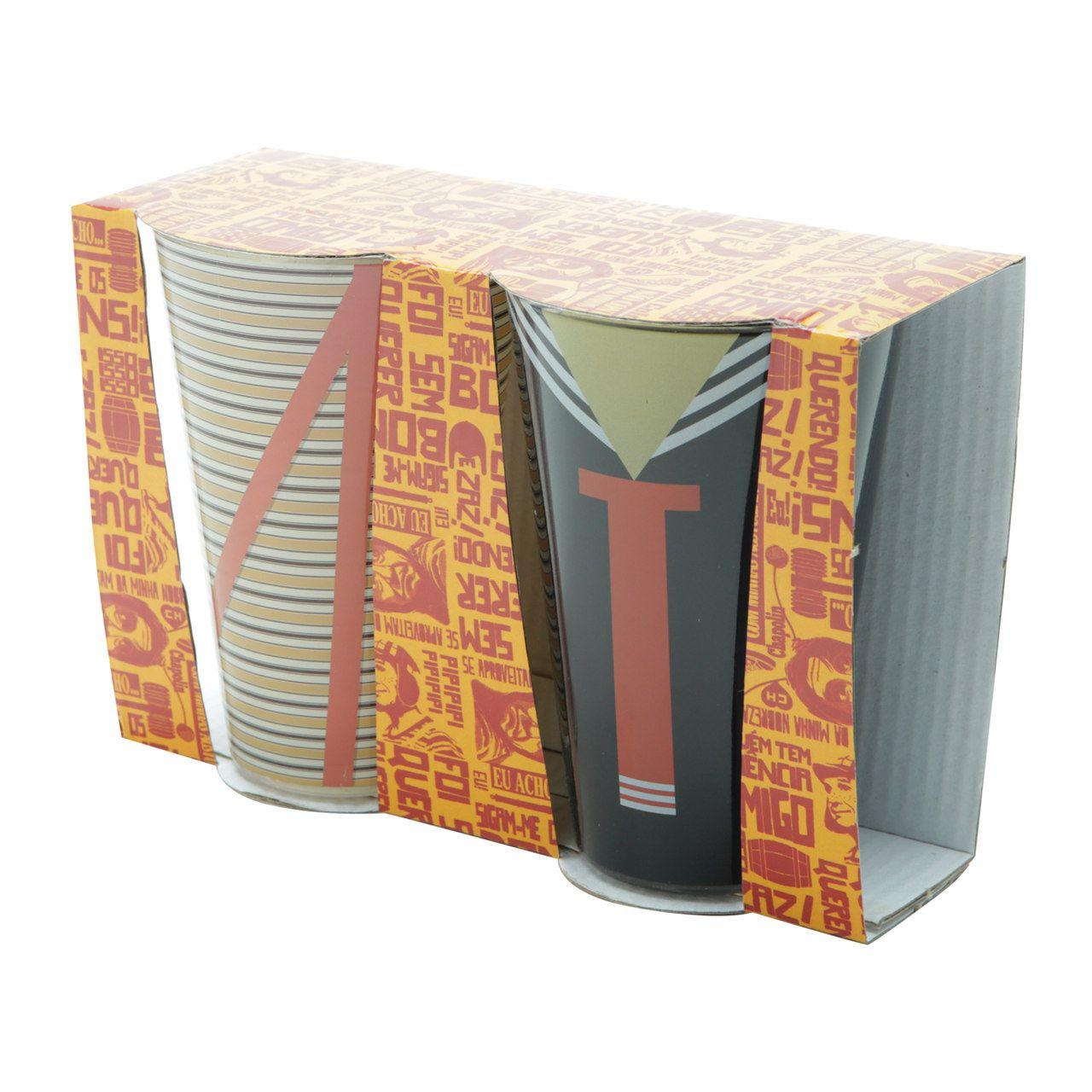 Set 2 Copos de Vidro Chaves (300ml) - Urban