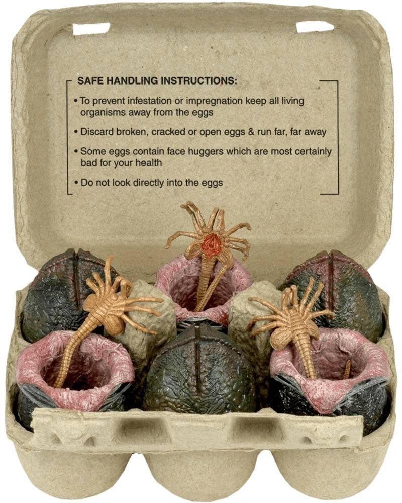 Set de Ovos Alien Xenomorph (Egg Set): Collectible Replica (On Carton) Escala 1/10 - Neca - CD