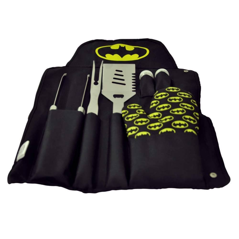 Set de Peças para Churrasco Batman: DC Comics