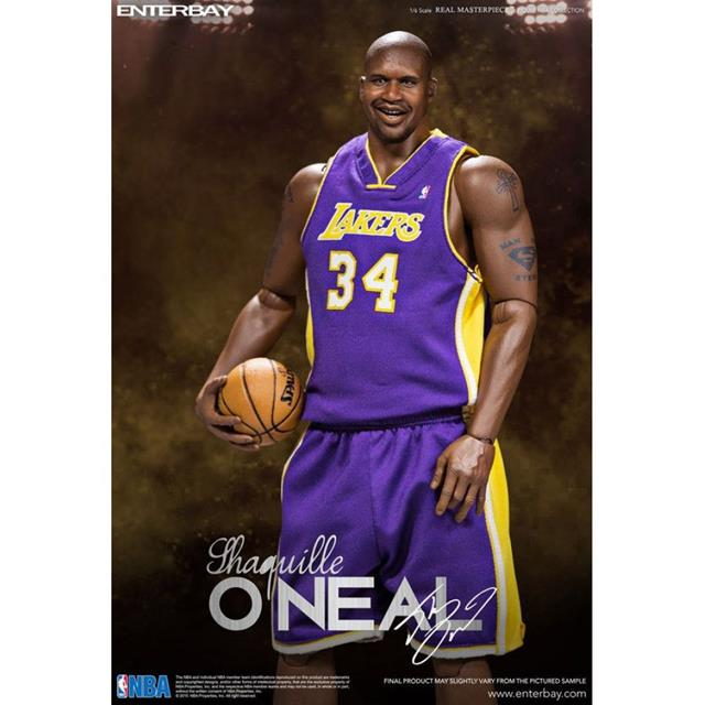 Shaquille O'Neal NBA Real Masterpiece Duo Pack Escala 1/6 - Enterbay