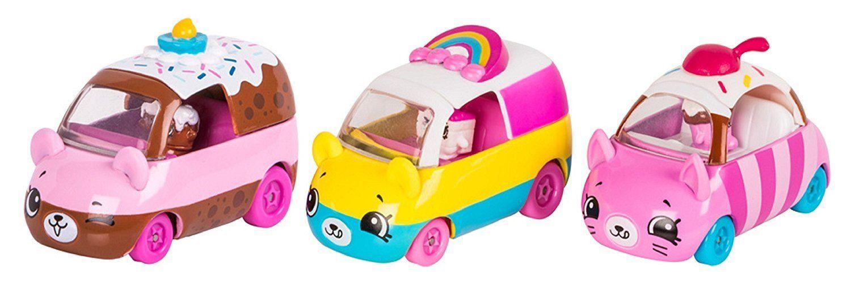 Shopkins Cutie Cars: Coleção Bolinhos - DTC