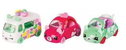 Shopkins Cutie Cars: Coleção Docinhos - DTC