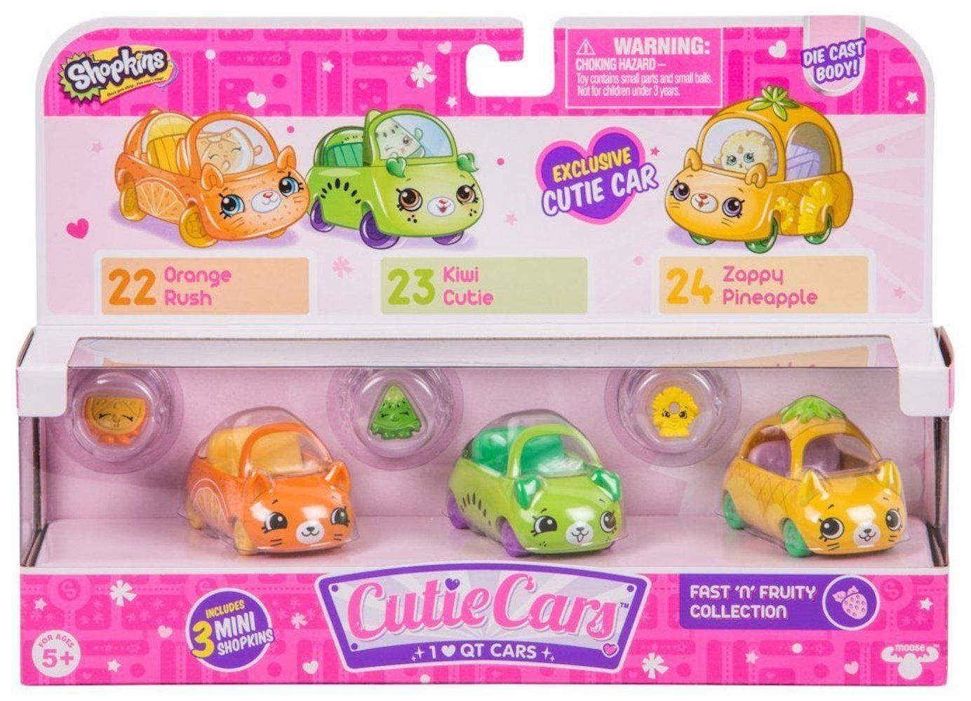 Shopkins Cutie Cars: Coleção Frutinhas - DTC