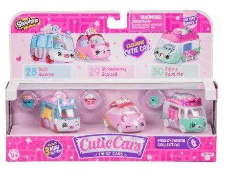 Shopkins Cutie Cars: Coleção Geladinhos - DTC