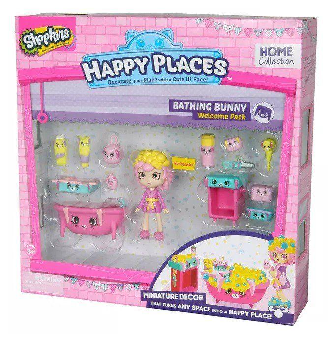Shopkins Happy Places: Banheiro Coelhinhos - DTC