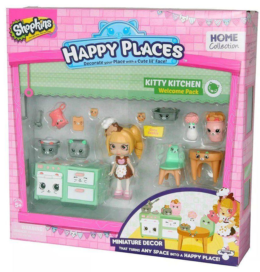 Shopkins Happy Places: Cozinha Gatinhos - DTC