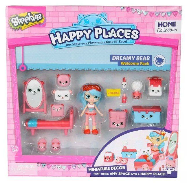 Shopkins Happy Places: Quarto Ursinhos - DTC