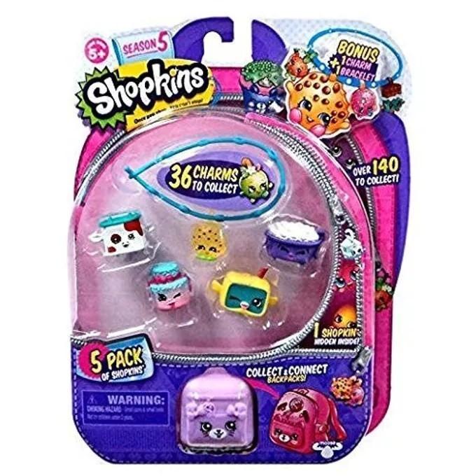 Shopkins: Kit Com 5 Shopkins Sortidos Série 5