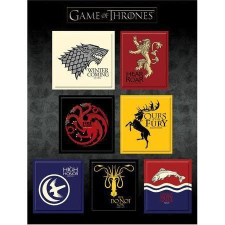 Símbolos Magnéticos Game Of Thrones - Dark Horse