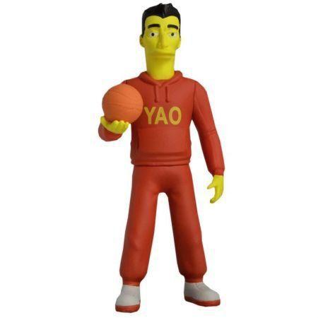 Boneco Yao Ming: Os Simpsons (The Simpsons 25th Anniversary) Series 1 - Neca - CG