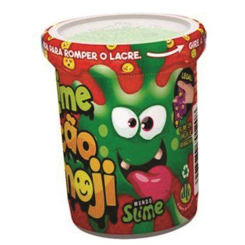 Slime Ecão (Com Emojis): Verde - DTC