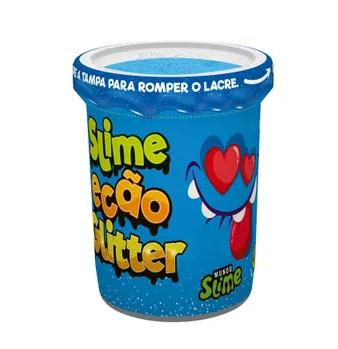 Slime Ecão Glitter: Azul - DTC