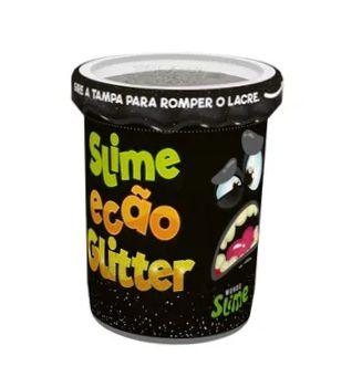Slime Ecão Glitter: Preto - DTC
