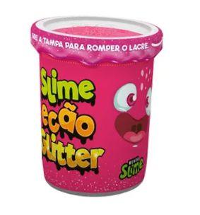 Slime Ecão Glitter: Rosa - DTC