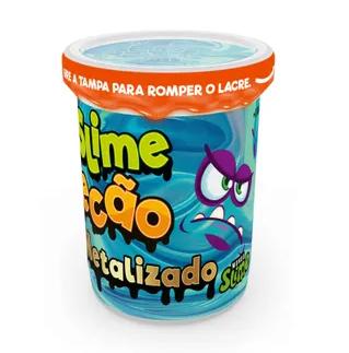 Slime Ecão Metalizado: Azul - DTC