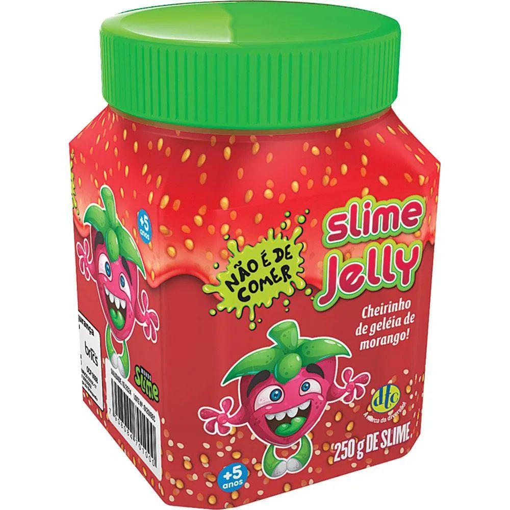 Slime Jelly: Cheirinho de Geleia de Morango - DTC  - Toyshow Geek e Colecionáveis Tudo em Marvel DC Netflix Vídeo Games