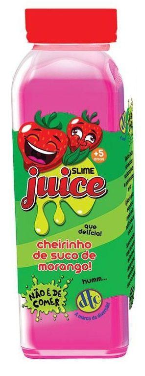 Slime Juice: Cheirinho de Suco de Morango - DTC