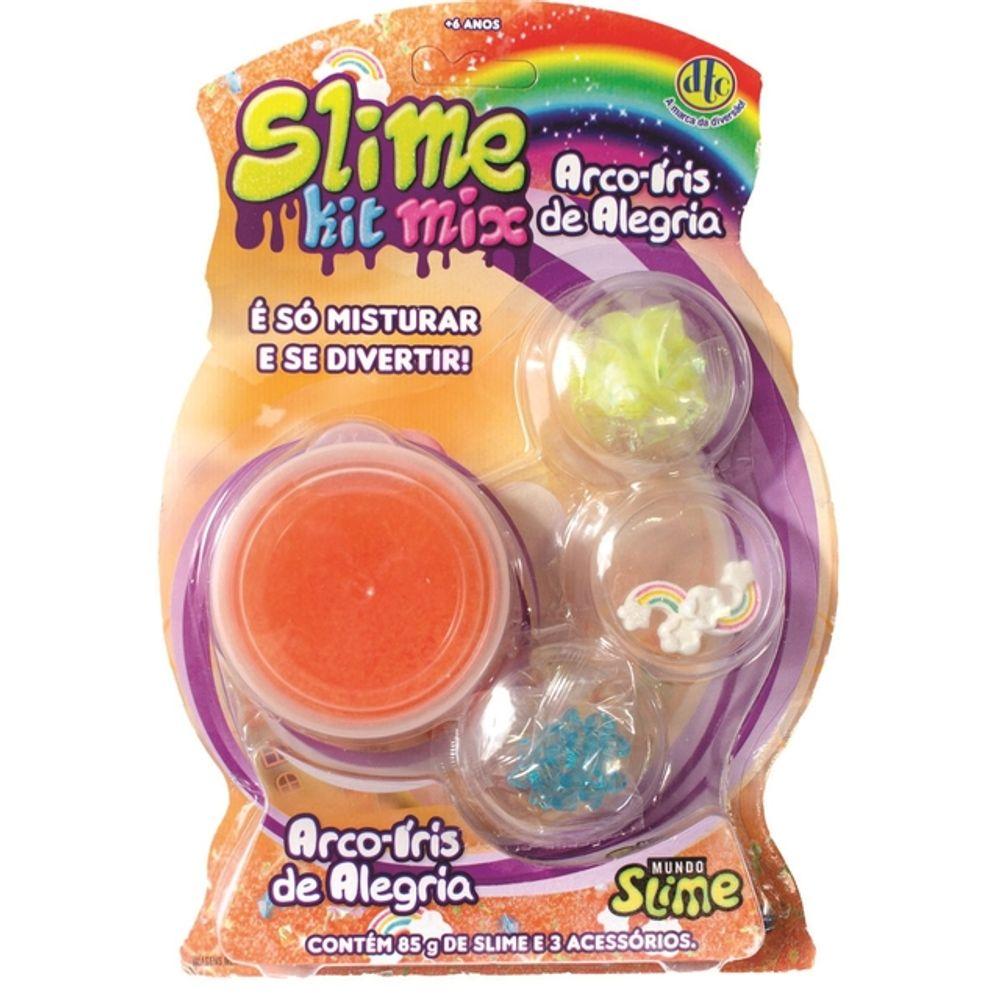 Slime kit Mix: Arco-Iris De Alegria
