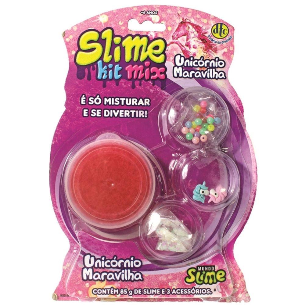 Slime kit Mix: Unicórnio Maravilha