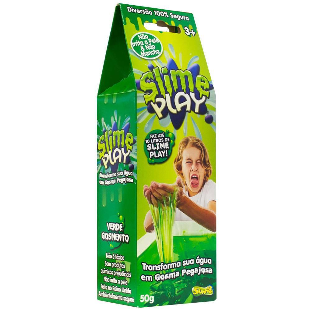 Slime Play: Verde Gosmento - Sunny