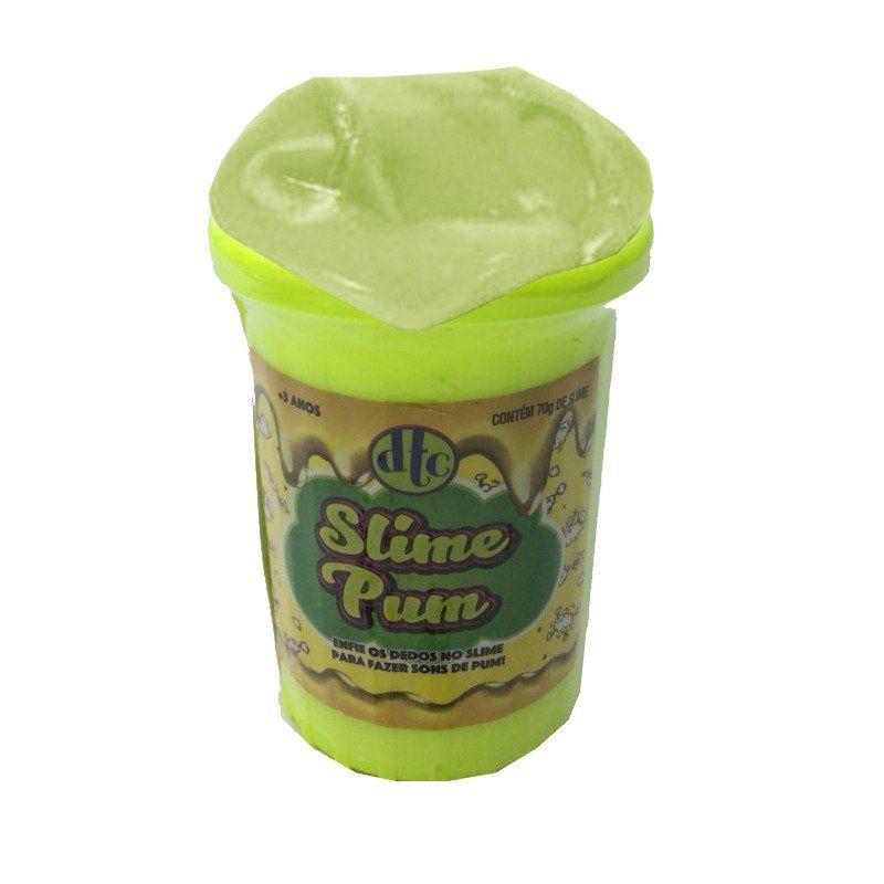 Slime Pum: Amarelo - DTC