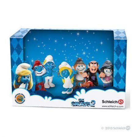 Smufs 2 Miniaturas - Schleich