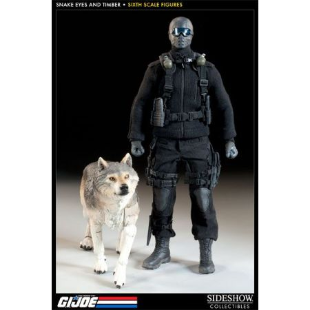 Snake Eyes e Timber G.I Joe 1:6 - Sideshow