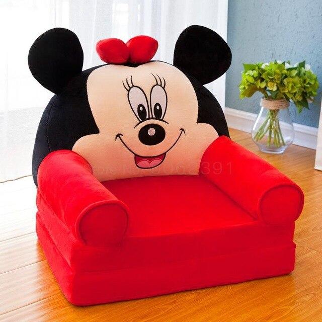 Sofá Poltrona Dobrável Infantil Minnie Mouse: Disney - EVALI