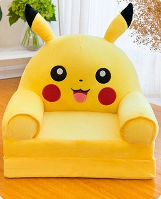 Sofá Poltrona Dobrável Infantil Pikachu: Pokémon - EVALI