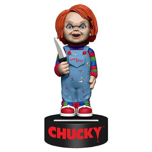 Solar Power Body Knockers Chucky: Brinquedo Assassino (Child's Play) - NECA (Exclusivo Toyshow)