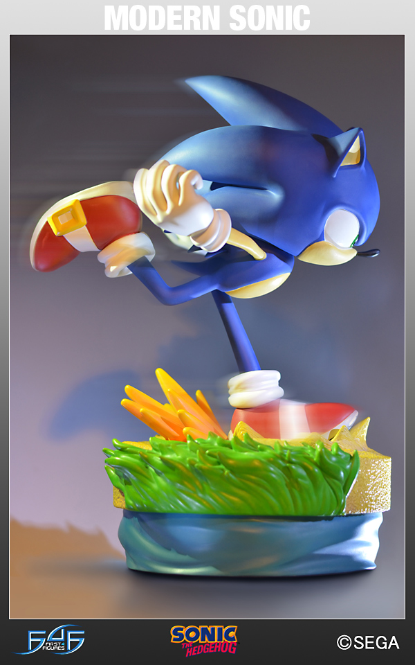 Sonic The Hedgehog: Modern Sonic  Estátua - First4Figures