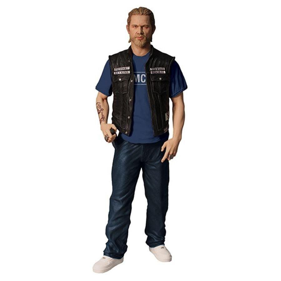 Action Figure Jax Teller (Samcro Shirt Version): Sons of Anarchy (Boneco Colecionável) - Mezco