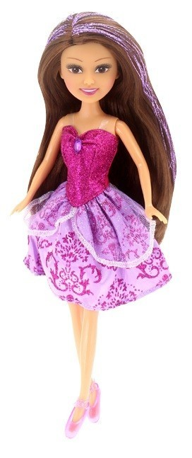 Sparkle Girlz: Princesa com Vestido Rosa Escuro no Cone