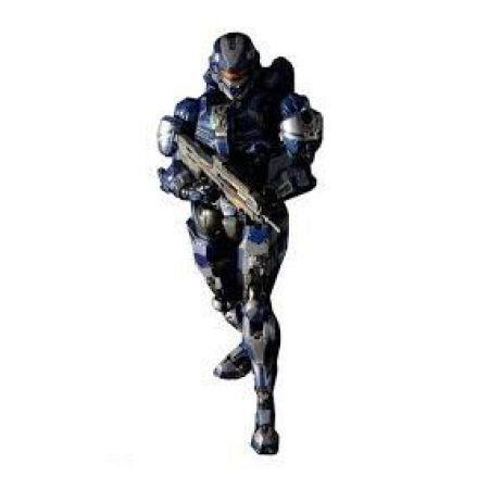 Spartan Warrior Halo 4 Action Figure Square Enix - Play Arts Kai