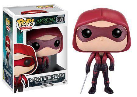Funko Pop Speedy (com Espada): Arrow #351 - Funko