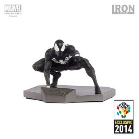Spider-Man Black Costume (Exclusivo ccxp 2014) 1:10 - Iron Studios